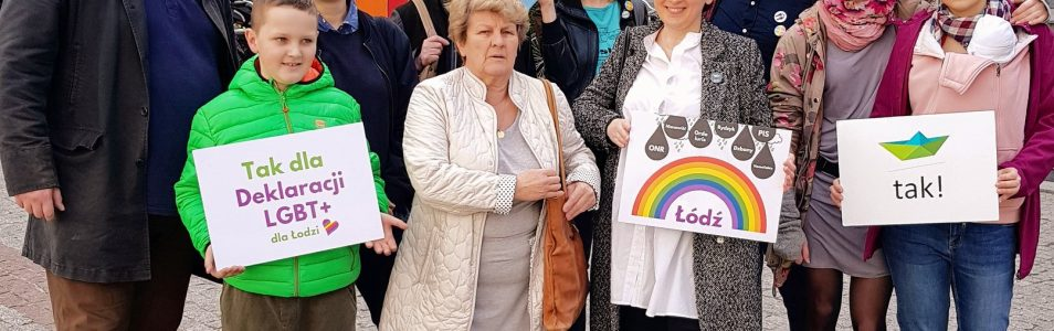 Deklaracja LGBT+ w Łodzi – petycja złożona!